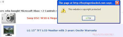 Protect content by disabling right-click