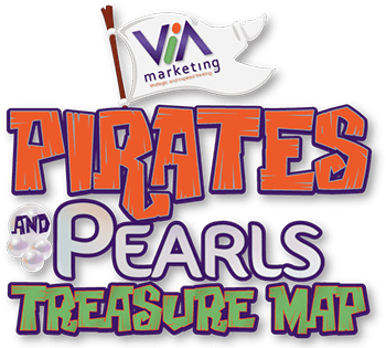 Pirates & Pearls Treasure Map