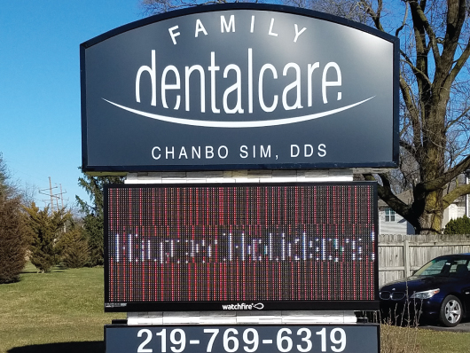 nwi signs family dental
