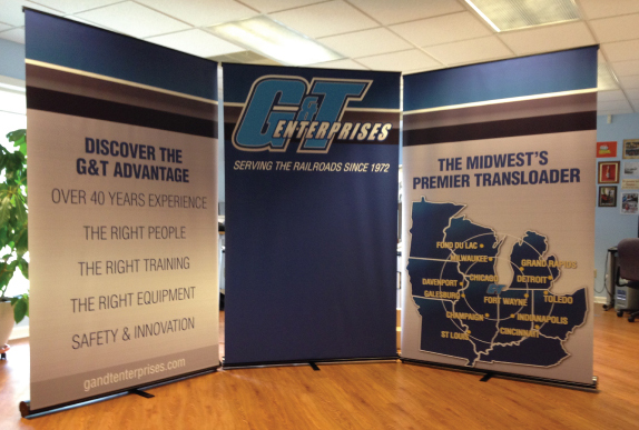 nwi tradeshow displays G&T booth