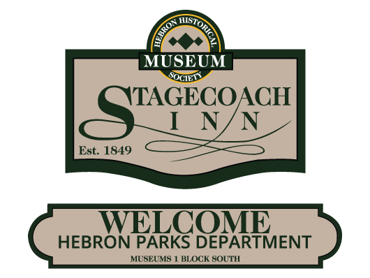 nwi signs stagecoach inn museum building