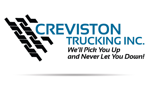 nwi logo design creviston trucking brand