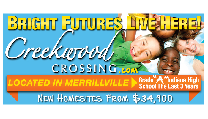 nwi creekwood crossing billboard