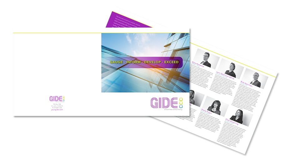 nwi brochure and print gide brochure
