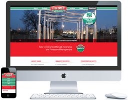 nwi website design hasse construction cms responsive