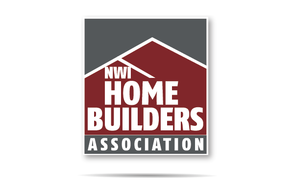 nwi logo design home builders association word brand