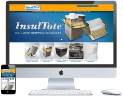 nwi website design insultote ecommerce cms responsive