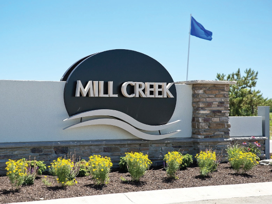 nwi signs mill creek monument