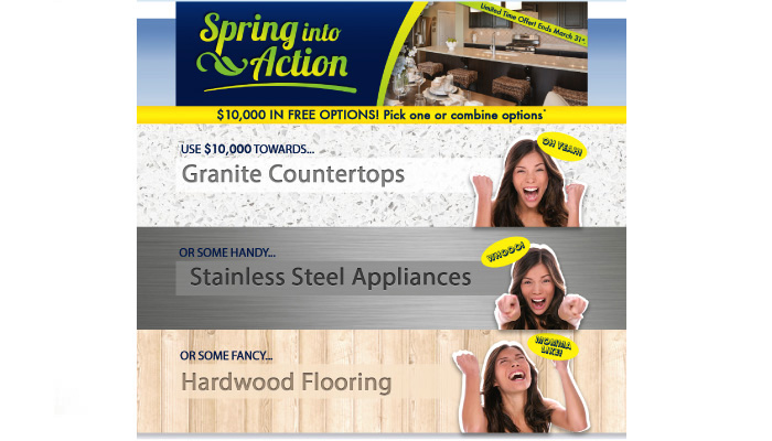 nwi digital marketing olthof homes spring into action
