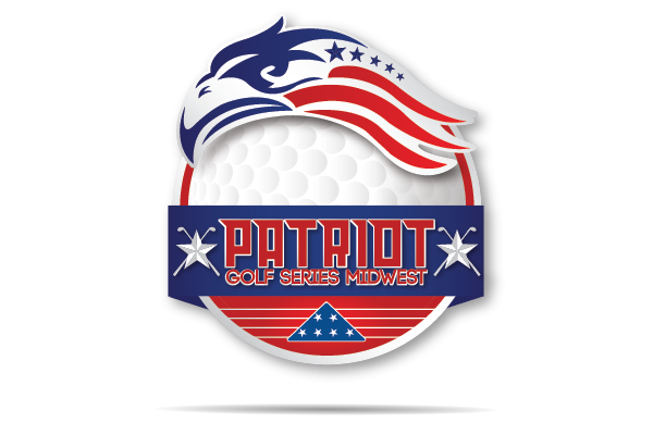 nwi logo design patriot golf series logo