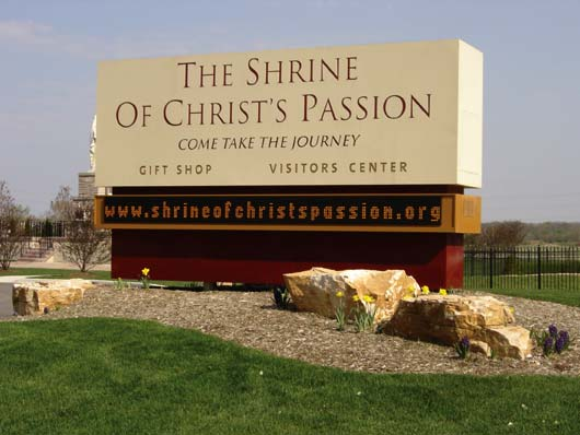 nwi signs shrine church
