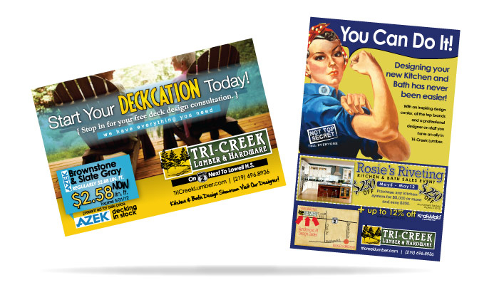 nwi tri creek advertising mailer