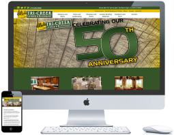 nwi website design ecommerce tri creek cms responsive
