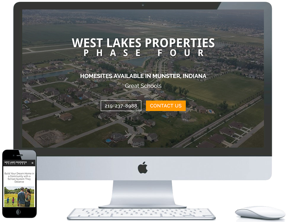 nwi website design West Lakes cms responsive